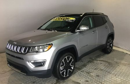 2018 Jeep Compass LIMITED CUIR MAGS TOIT NAV GR-ELEC