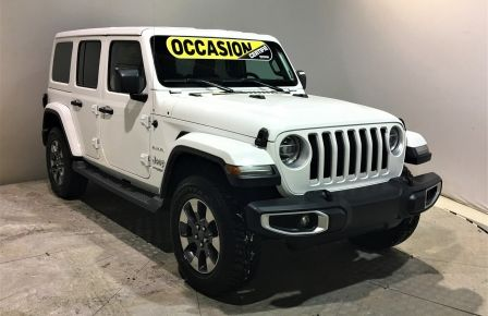 2018 Jeep Wrangler Unlimited UNLIMITED CUIR 2 TOITS NAV MAGS