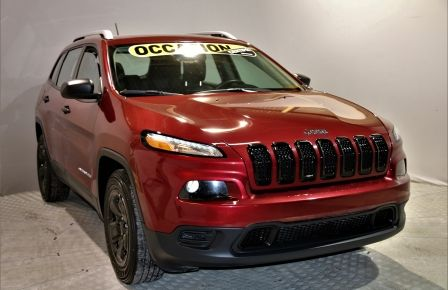 2015 Jeep Cherokee Sport 4x4 bancs chauffants volant chauffant à Saint-Jérôme