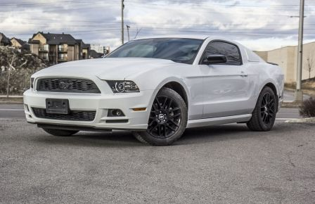 2014 Ford Mustang V6 Coupe MAG NOIR