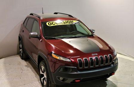 2018 Jeep Cherokee Trailhawk Leather Plus toit 4x4 à Saint-Jérôme