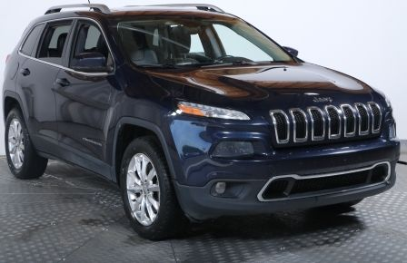 2014 Jeep Cherokee Limited 4WD AUTO TOIT CUIR BLUETOOTH à Repentigny