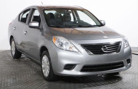 2012 Nissan Versa S MANUELLE A/C BAS KILOMÈTRAGE VITRE ET PORTE ELEC à Carignan