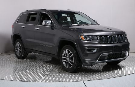 2017 Jeep Grand Cherokee LIMITED 4X4 CUIR TOIT MAGS BLUETOOTH CAMERA RECUL