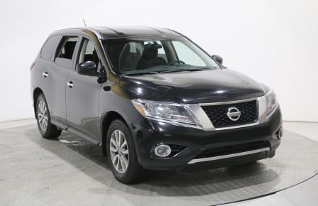 2015 Nissan Pathfinder S FWD 7 PASSAGERS AC GR ELECT MAGS