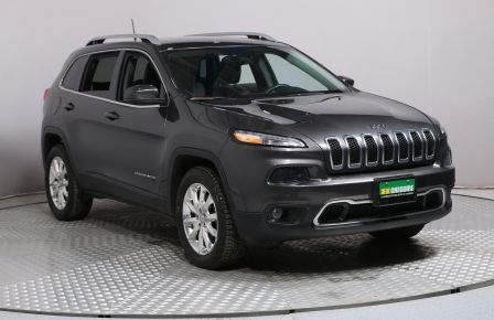 2016 Jeep Cherokee Limited AWD CUIR MAGS BLUETOOTH CAM RECUL