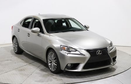 2014 Lexus IS250 AWD AUTO GR ELECT CUIR TOIT MAGS BLUETOOTH à Saguenay