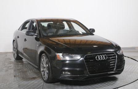 2015 Audi A4 Progressiv plus QUATTRO AUTO CUIR MAGS TOIT CAMERA
