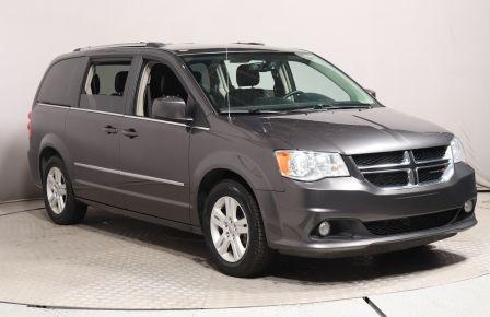 2017 Dodge Caravan Crew Plus A/C GR ELECT CUIR MAGS BLUETOOTH
