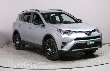 2018 Toyota Rav 4 SE AWD CUIR TOIT NAV MAGS  BLUETOOTH CAM RECUL à Laval