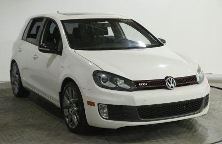 2013 Volkswagen Golf GTI WOLFSBURG TURBO AUTO TOIT NAVIGATION MAGS