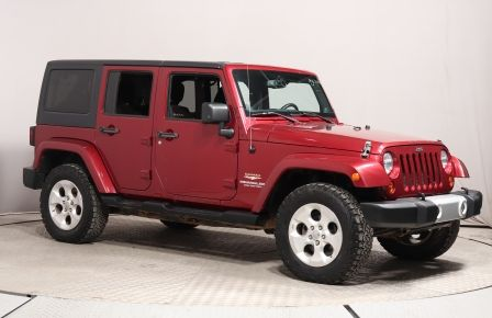 2013 Jeep Wrangler Unlimited Sahara 4X4 A/C MAGS