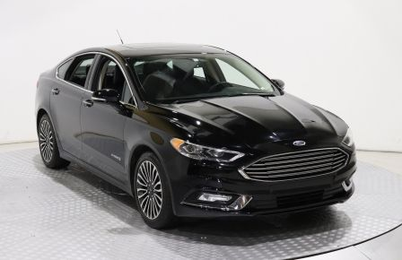 2018 Ford Fusion Platinum HYBRIDE CUIR TOIT OUVRANT NAVIGATION