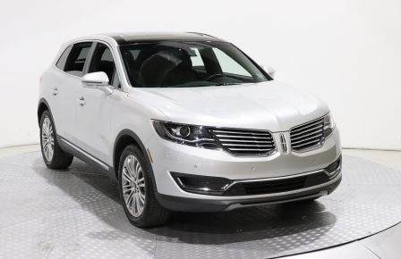 2018 Lincoln MKX Reserve AWD NAVIGATION TOIT OUVRANT 360 CAMERA