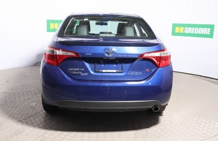 2015 Toyota Corolla S MANUELLE TOIT CUIR BLUETOOTH MAGS