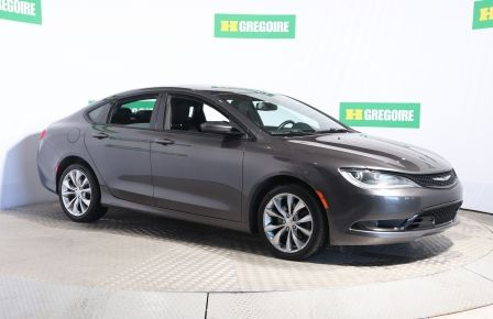 2015 Chrysler 200 S AWD CUIR TOIT MAGS CAM RECUL BLUETOOTH