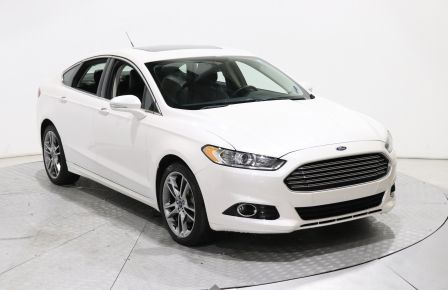 2016 Ford Fusion Titanium AWD AUTO CUIR TOIT OUVRANT NAVIGATION